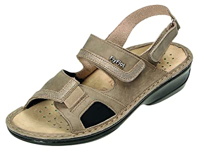 c3db706bc123 Fly Flot Women s Fashion Sandals Grey Grey Grey Size  7 UK  Amazon ...