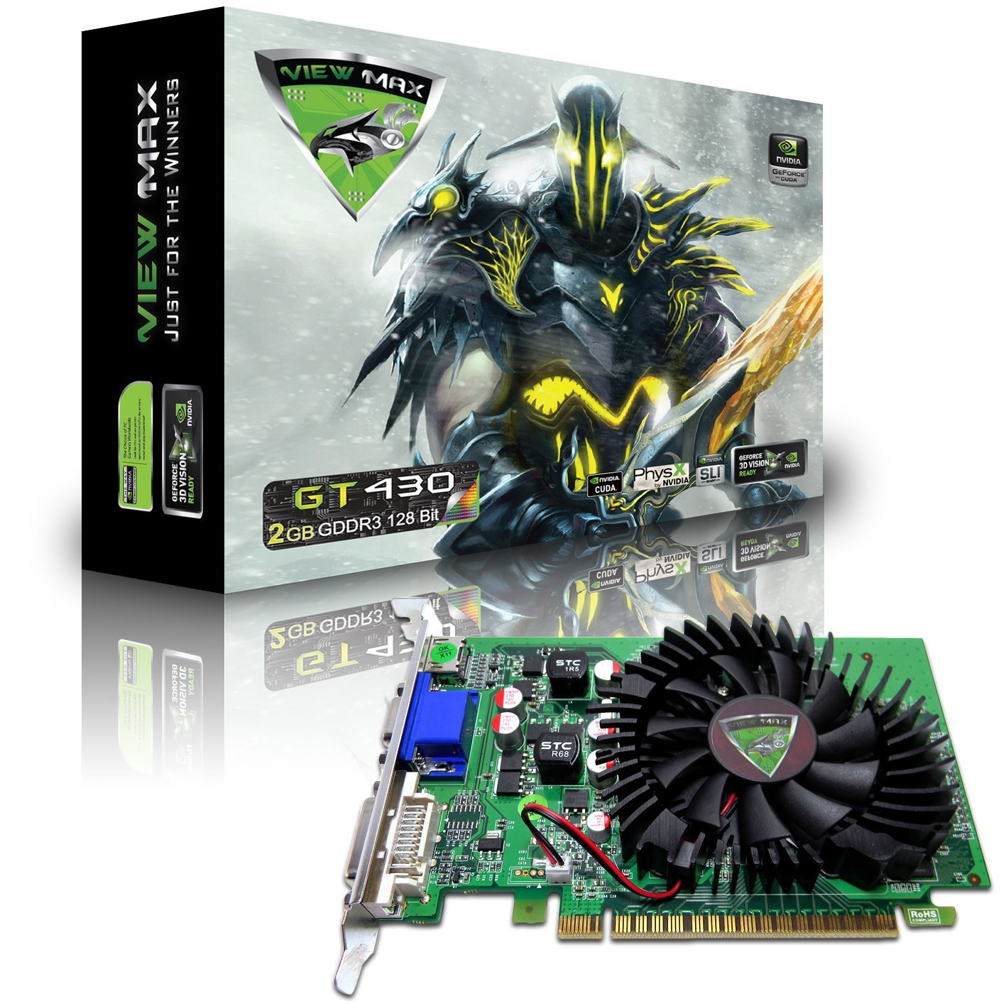Amazon.com: Viewmax NVIDIA GeForce GT 430 2 GB DDR3, PCI ...