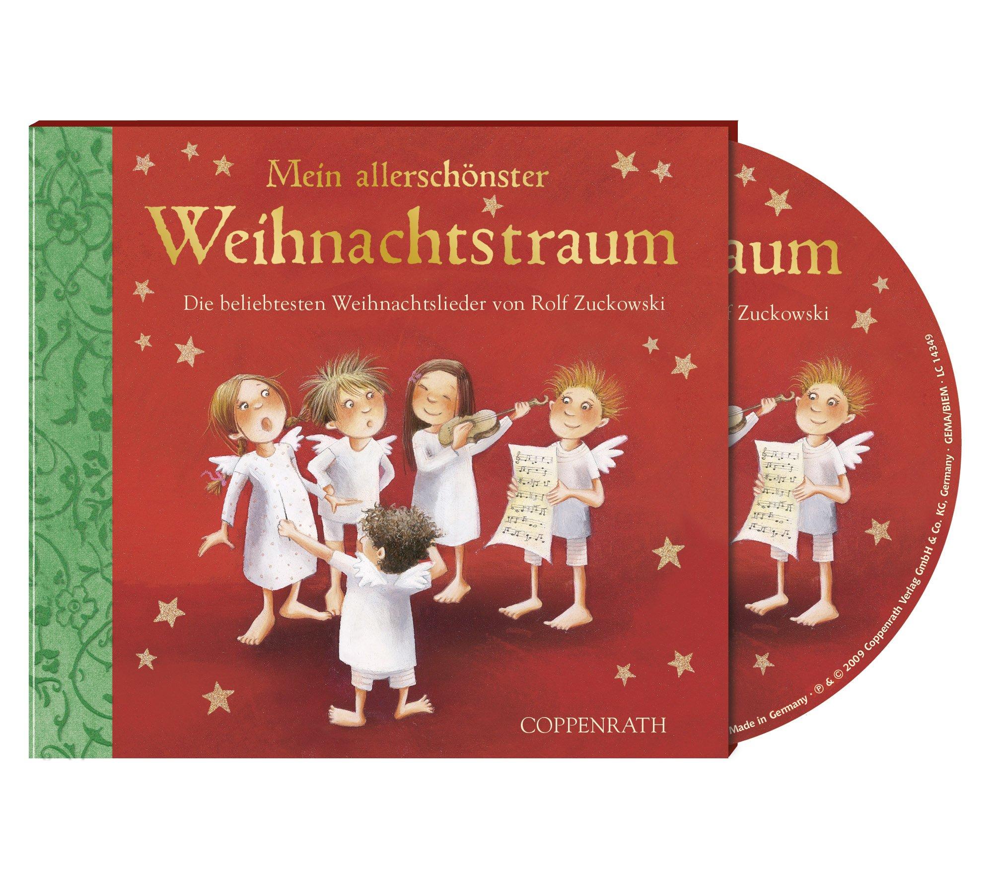 Rolf Zuckowski Weihnachtslieder Texte.Mein Allerschonster Weihnachtstraum Cd Die Beliebtesten
