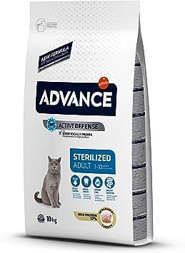 Advance - Pienso para Gatos Esterilizados Adultos, 10 kg: Amazon ...