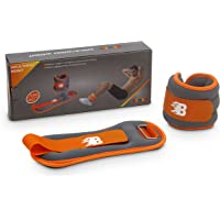 Burn BFA3049-1 Ankle and Wrist Weight, 1 kg (Grey/Orange)