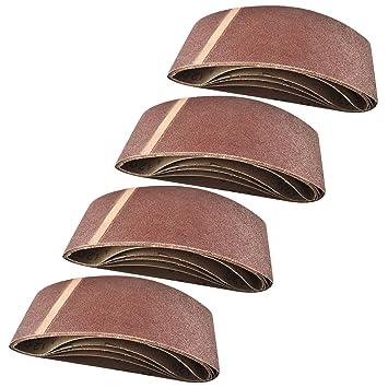 Power Belt Sander Datei Finger Streifen abrasives Schleifmittel 410mm x 65mm Ko