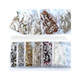40 Colors Mix Sizes Crystal Clear Ab Non Hotfix