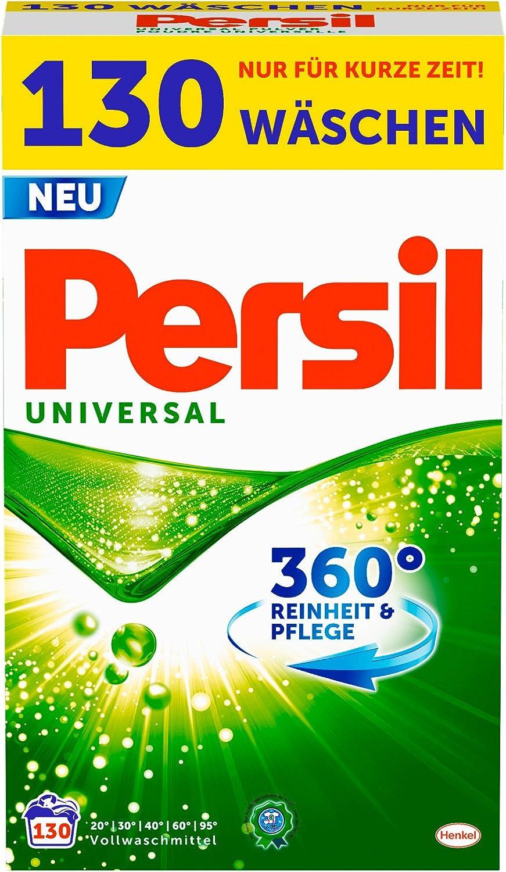 Persil Laundry Detergent Universal Mega Pack - 130 wash loads / 8.45 Kg