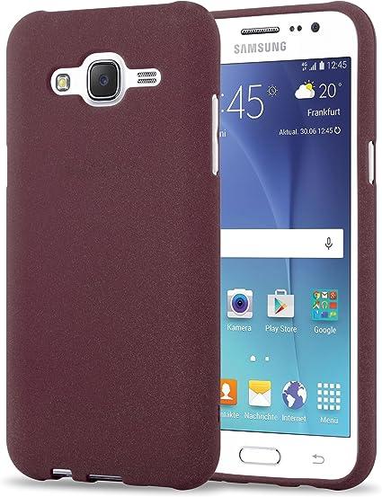 Cadorabo Funda para Samsung Galaxy J5 2015 en Frost Lila Burdeos: Amazon.es: Electrónica