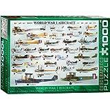 EuroGraphics Avions de la Première Guerre Mondiale - Puzzle de 1000 Pièces