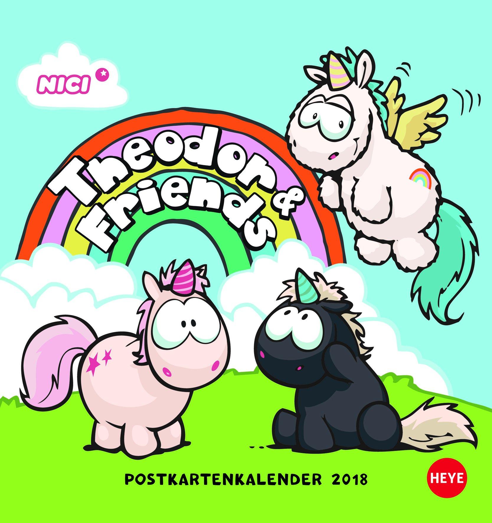 Einhorn Theodor Pkk Amazon De Heye Bücher