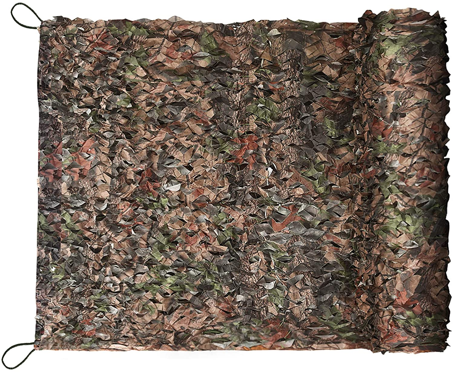 Yeacool Camo Hunting Blinds Netting, Military Canopy, Camouflage Tarp Rope Nets, Army Sunshade Fence Net, Lightweight Waterproof, Great for Car Cover, Party Decoration, Stealth Camping, Photograph