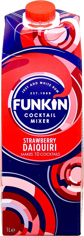 Funkin Strawberry Daiquiri Cocktail Mixer 750ml: Amazon.es ...