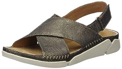 Schuhe Handtaschen Tri Alexia Damen Clarks amp; Sandalen wISqnY