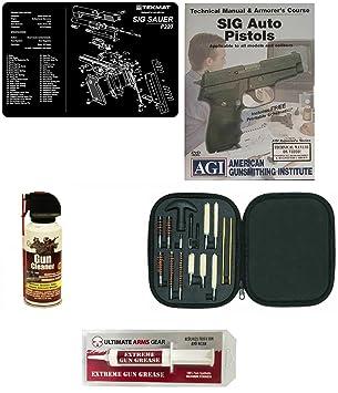amazon gunsmithガンクリーニングマットsig sauer p220 pro