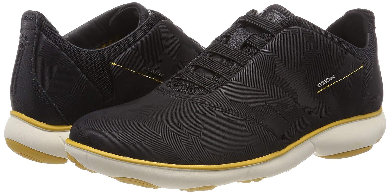 Geox Mens Nebula F Slip-On Sneaker Sneakers