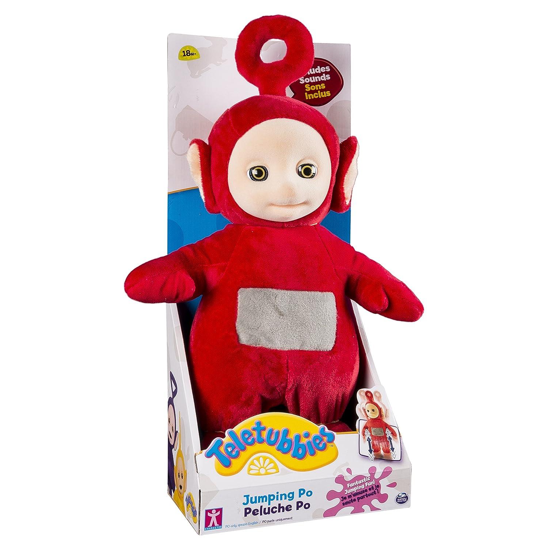 Teletubbies Jumping Po Plush - Juguete de peluche [Importado]: Amazon.es: Juguetes y juegos