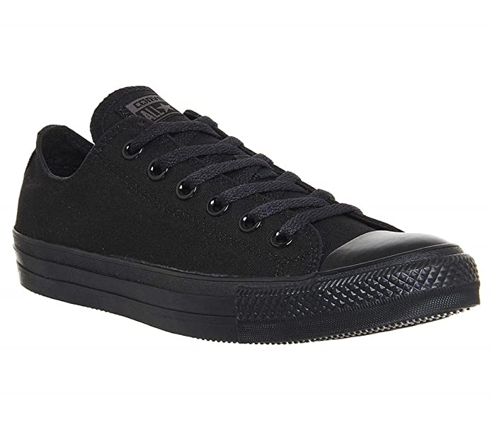 Converse Chucks All Star Low Top Sneaker Damen komplett Schwarz