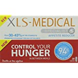 XLS-Medical Appetite Reducer Diet Caspules for Weight Loss, 30 Capsules