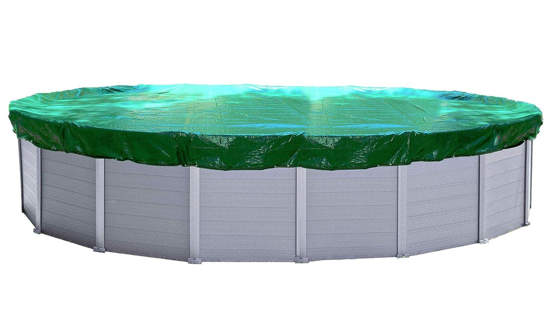 Quick-Star Cubierta de Invierno para Piscina Oval 650x420 cm Lona Protectora: Amazon.es: Jardín