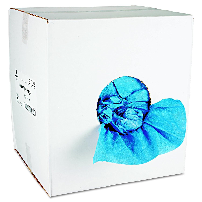 Chix DuraWipe一般的な目的タオル、14 x 14、wood-pulp /ポリエステル、ブルー、250 /カートン B004EHZ8PC