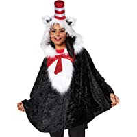 Cat in The Hat Dr. Seuss Poncho | Officially Licensed