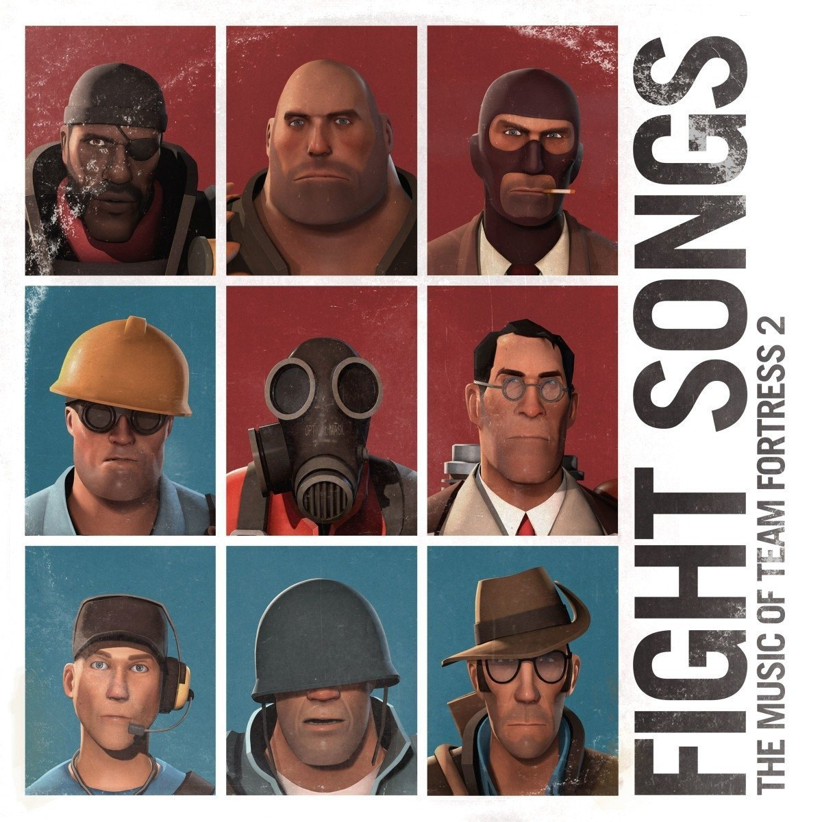 CD : Valve Studio Orchestra - Fight Songs: The Music Of Team Fortress 2 (CD)