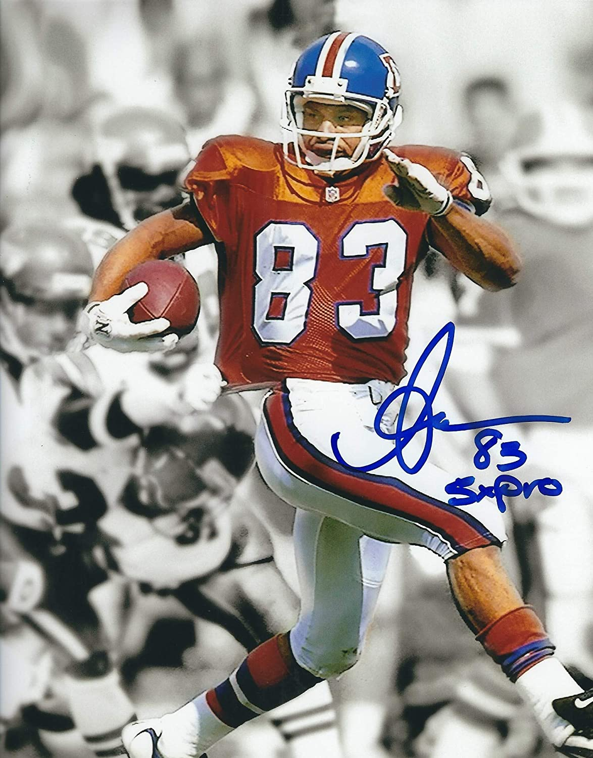 the latest dda87 5deb0 Autographed Anthony Miller 8x10 Denver Broncos Photo. at ...