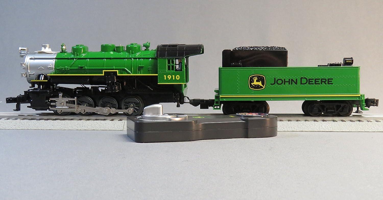 LIONEL JOHN DEERE STEAM ENGINE & TENDER LIONCHIEF REMOTE CONTROL