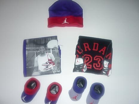 a43509595c5 Image Unavailable. Image not available for. Color  Nike Jordan Jumpman 0-6  Months 5-piece Infant Set