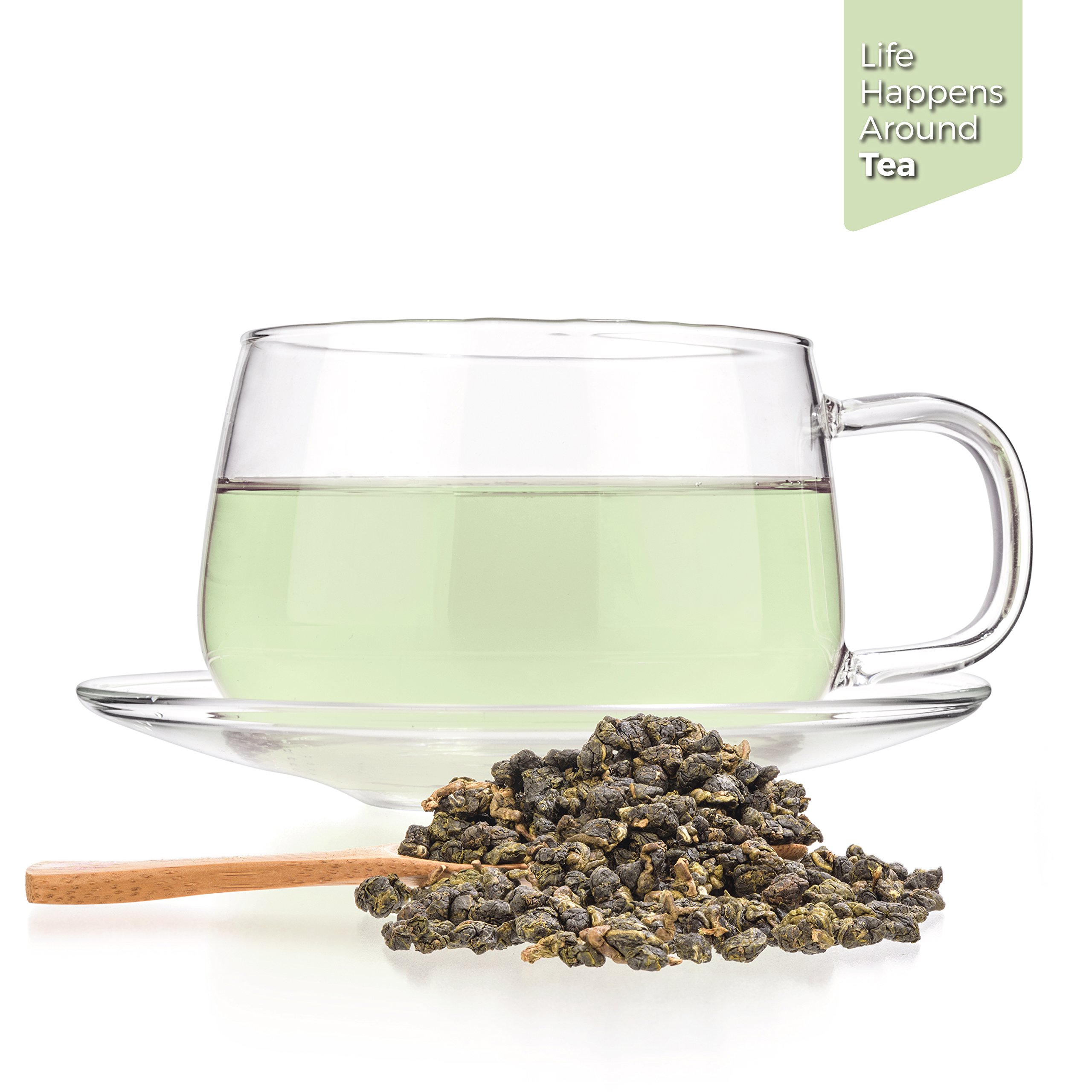 Tealyra - Milk Jin Xuan Oolong - High Mountain Taiwanese Loose Leaf Tea - Great Milky Cream Taste and Aroma - Organically Grown - Weight Loss Tea - 200g (7-ounce) by Tealyra (Image #3)
