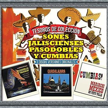 Mariachi Mexico de Pepe Villa - Mariachi Mexico de Pepe Villa (3CDs Sones Jaliscienses, Pasodobles y Cumbias) Sony-889854553227 - Amazon.com Music