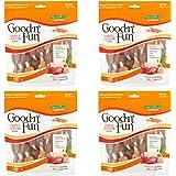 Good'n'Fun Triple Flavored Rawhide Kabobs Dog Treats, 12 oz - 4 Pack