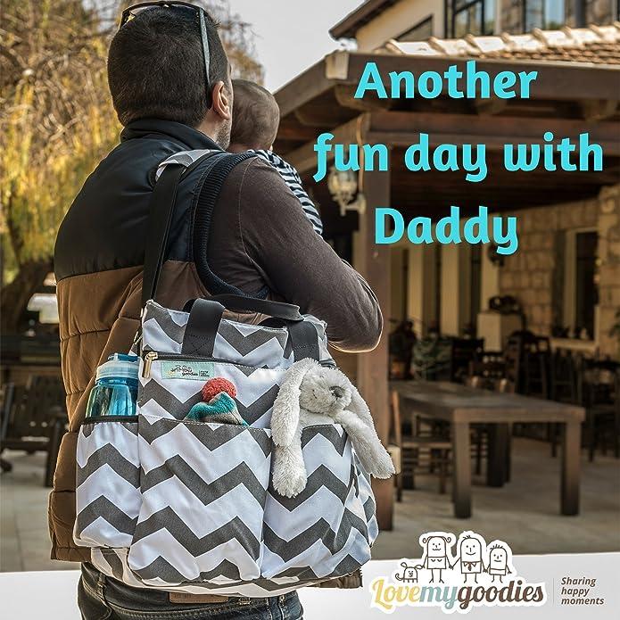 Amazon.com: Bolsa de pañales para chicos y chicas de ...