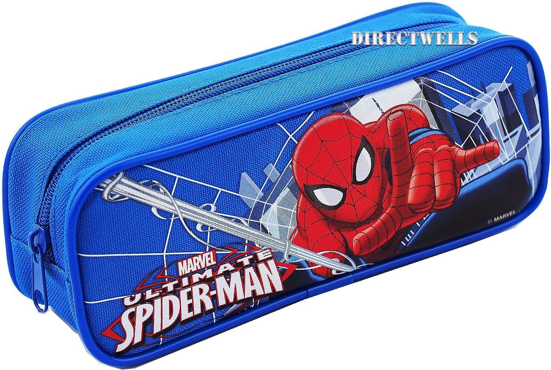 Spiderman Ultimate - Estuche con cremallera, color azul: Amazon.es: Juguetes y juegos