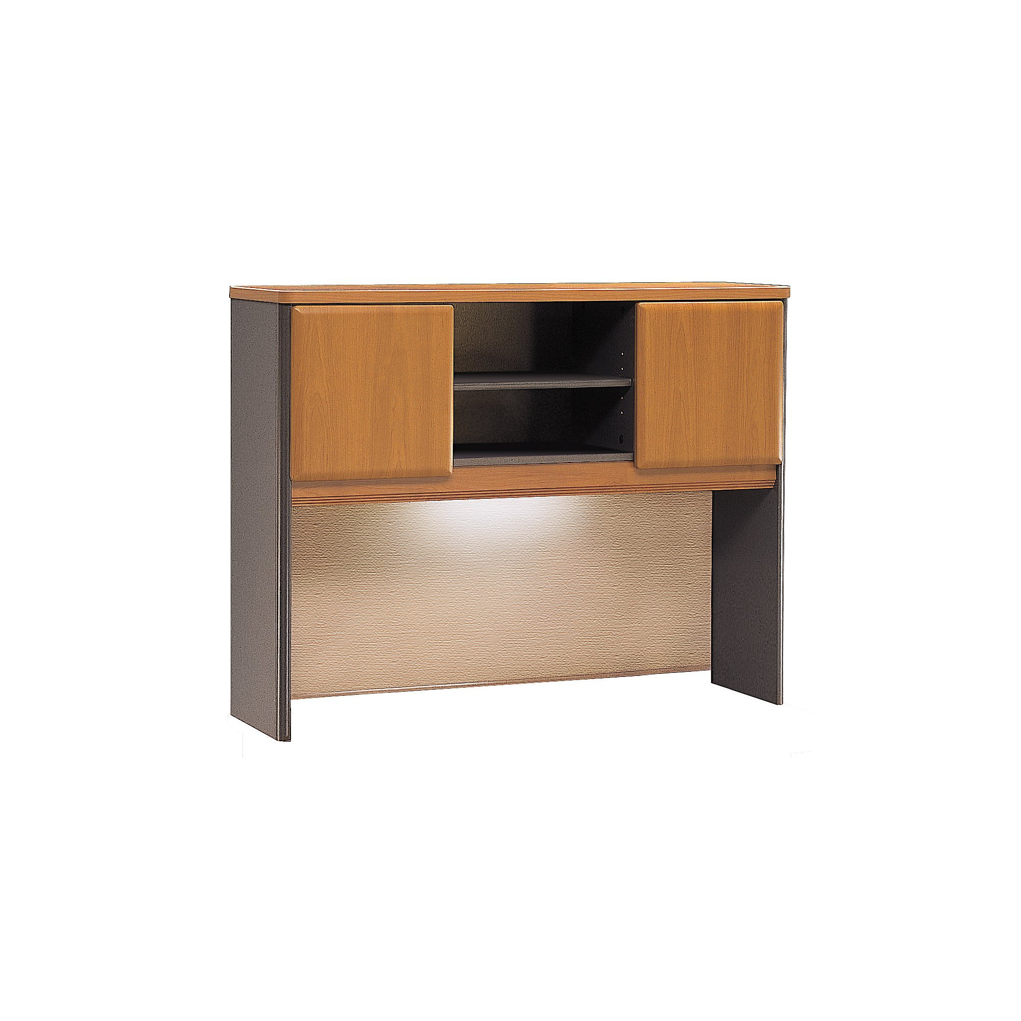 Bush Business Furniture Series A Collection 48W Hutch in Natural Cherry/Slate by Bush Business Furniture