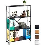 Stylish 4 Shelf Bookcase to Match our Range of Home Office Furniture - Piranha BALLAN PC 12g