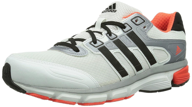 Adidas Nova Cushion - Zapatillas de running para hombre 42 EU|Mehrfarbig (Running White Ftw/Black 1/Dark Orange)