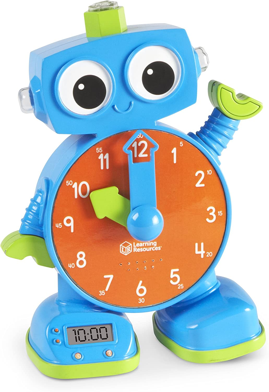 Learning Resources Resources-LER2385 Horloge d'Apprentissage Tac de, LER2385, Ne S'applique P