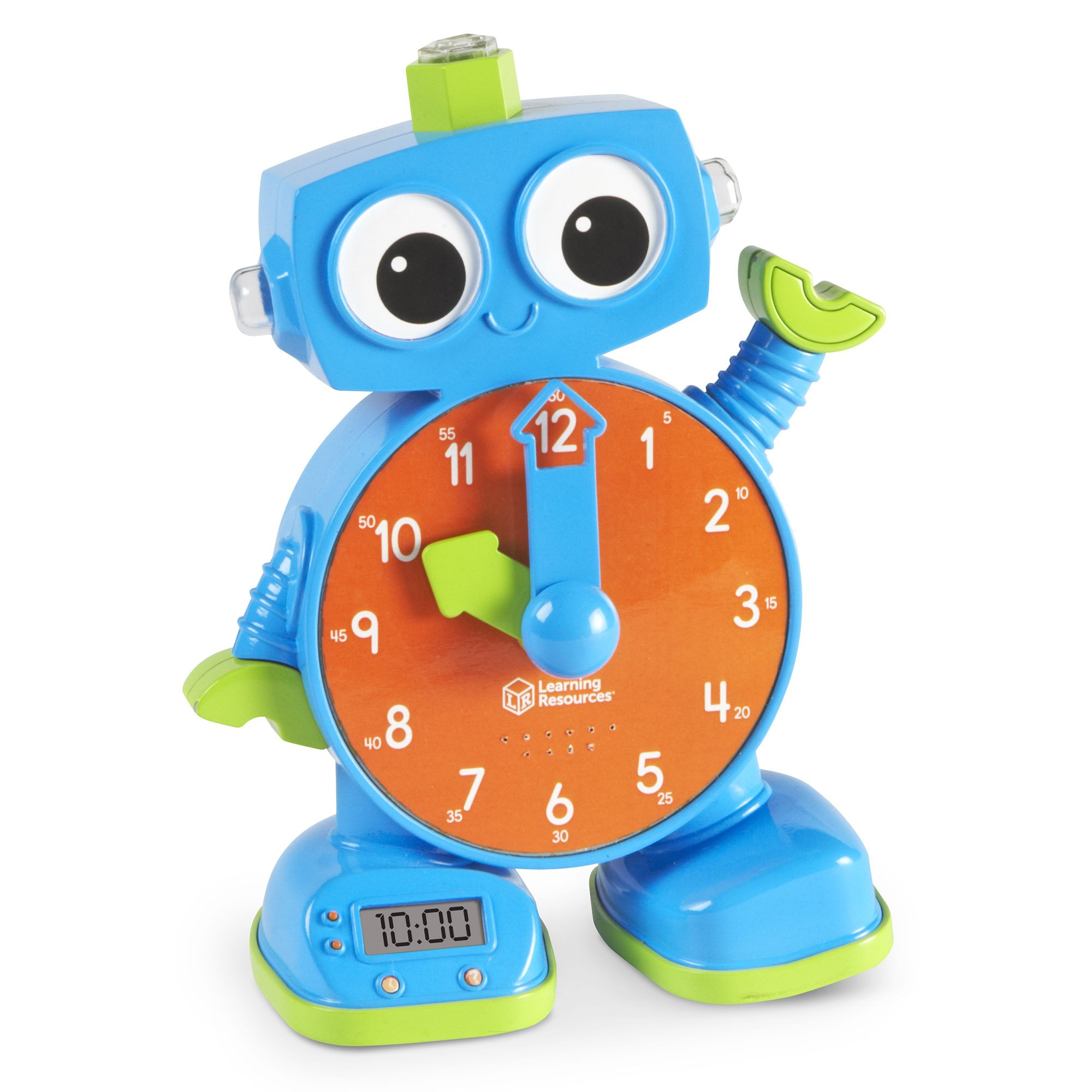Learning Resources Tock The Learning Clock Toy, Multicolor