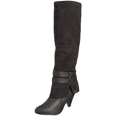 Damen Stiefel, schwarz, 39