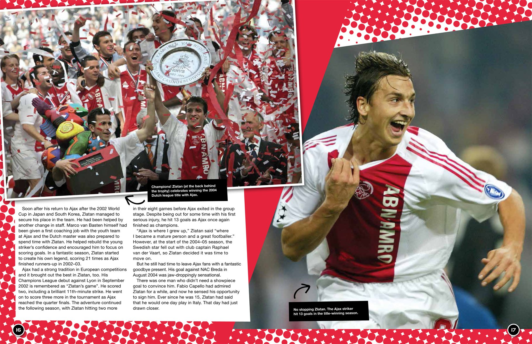 Zlatan Ibrahimovic (The Ultimate Fan Book)