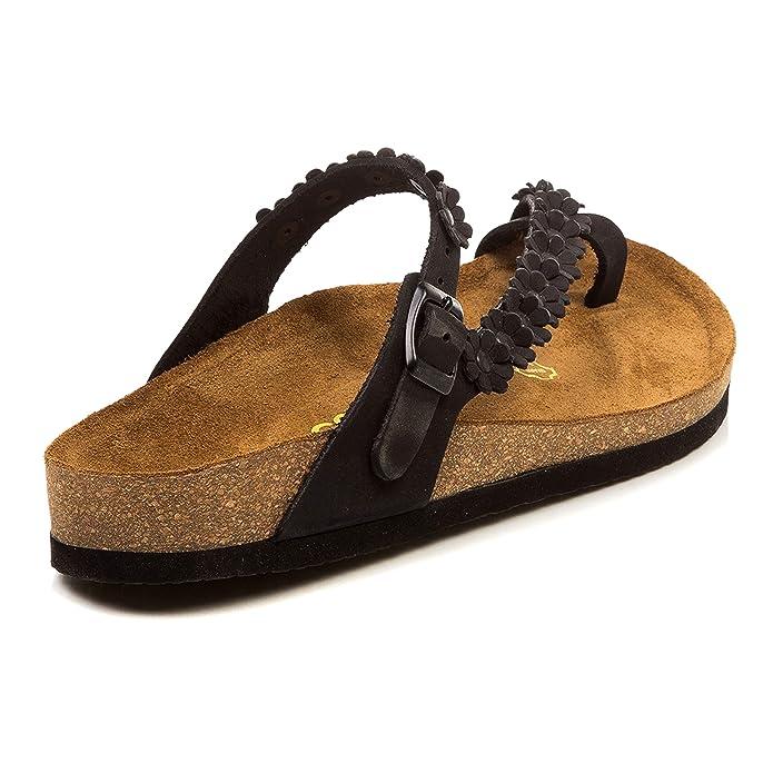 99928fda029d5 Amazon.com | Comfortfüße dsgn GERMANY Women's Sandals Ilva | Flats