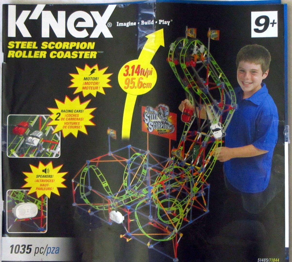 KNEX Steel Scorpion Roller Coaster