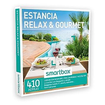 Smartbox - Caja Regalo - Estancia Relax & Gourmet - 410 relajantes hoteles 5*,