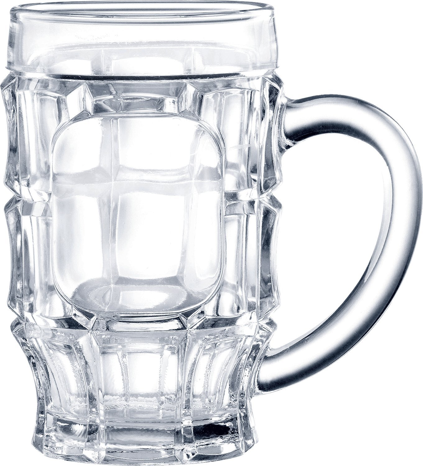ITI 314 Mug, 18-Ounce, 24-Piece, Clear