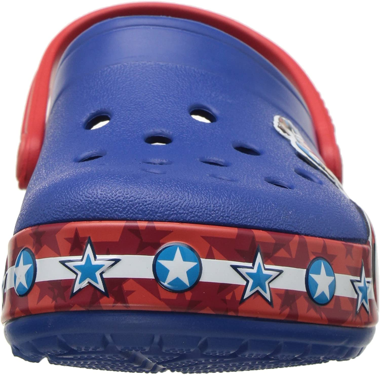 Crocs Baby-Boys CB FL Captain America CLG K Clog