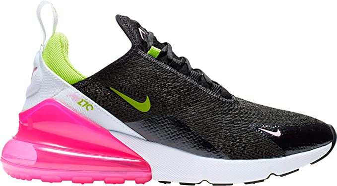 official photos 6465d 08640 Nike Women's Air Max 270 Shoes (10, Black/Pink)