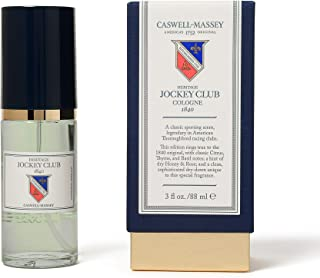 product image for Caswell-Massey Heritage Jockey Club Cologne - New Formula of Jockey Club Fragrance For Men Infused With Scents of Citrus, Thyme, Honey, and Rose - 88 ml