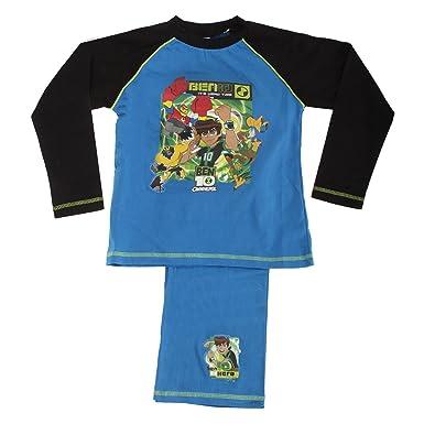 4b06cdff Ben 10 Boys Its Hero Time Long Sleeve Top & Bottoms Pyjama Set (7-8 ...