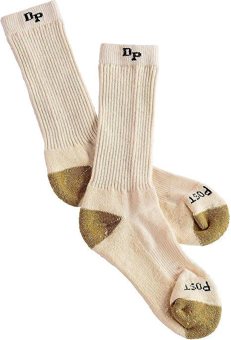 Dan Post Mens Dan Post Work /& Outdoor Socks Mid Calf Mediumweight Steel Toe 6 pack