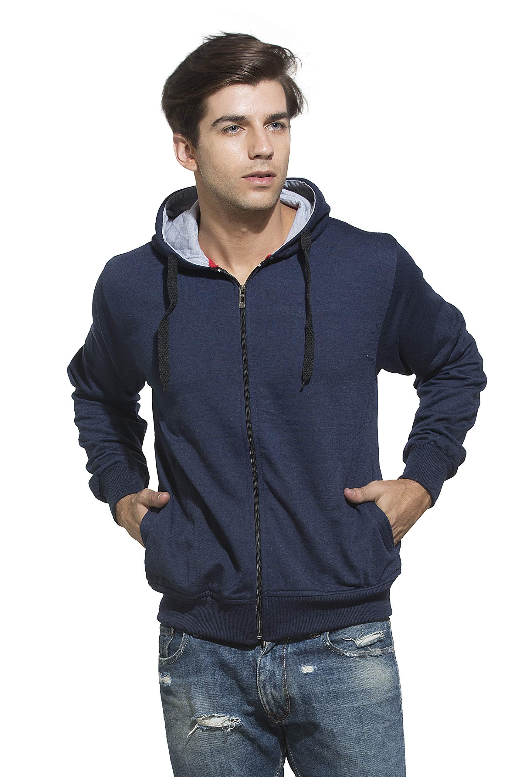 Alan Jones Clothing Men's Cotton Hooded Sweatshirt product image