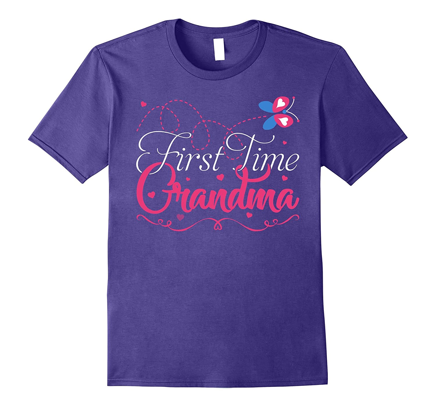 1st Time Grandma T-shirt New Grandmother Gift For Her-TH