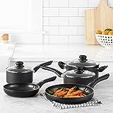 AmazonBasics 8-Piece Non-Stick Kitchen Cookware